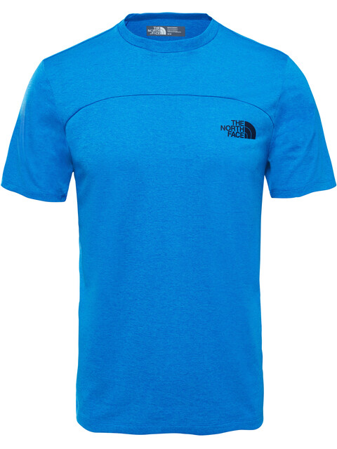 The North Face M's Purna S/S Tee Bomber Blue Light Heather